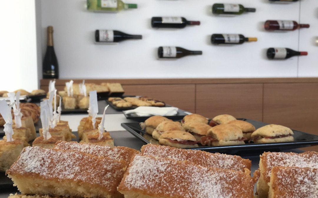 SABORES en tu CASA ofrece un Coffee-break en Bodegas Yuntero