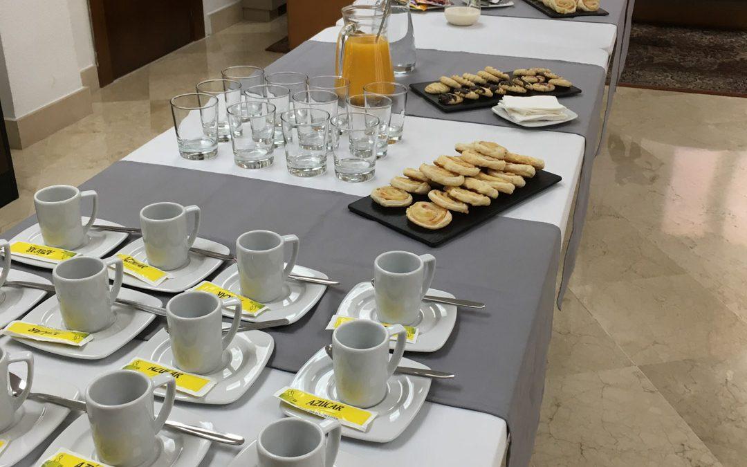 SABORES en tu CASA ofrece un coffee-break a Adecco Ciudad Real